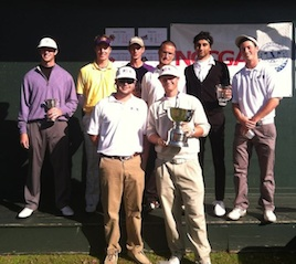 east carolina club golf team fall 2011 nccga national championship