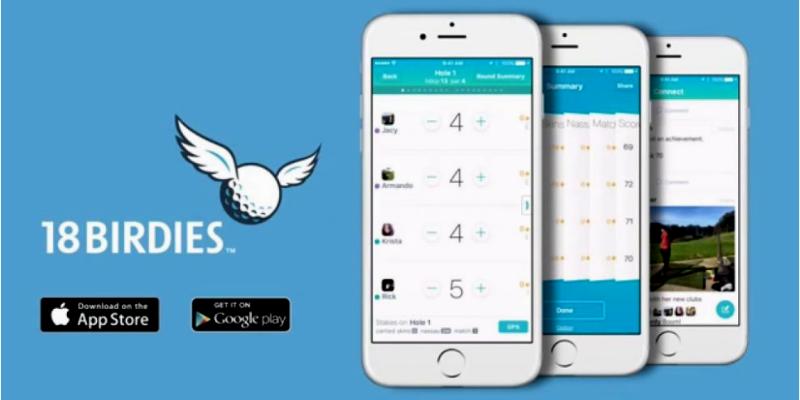 18Birdies mobile golf app