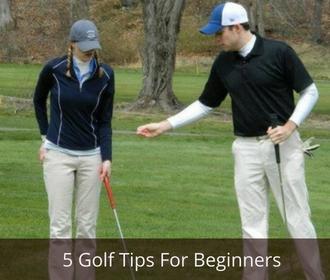 5 Golf Tips For Beginners