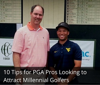 10 tiops for pga pros to attract millenial golfers