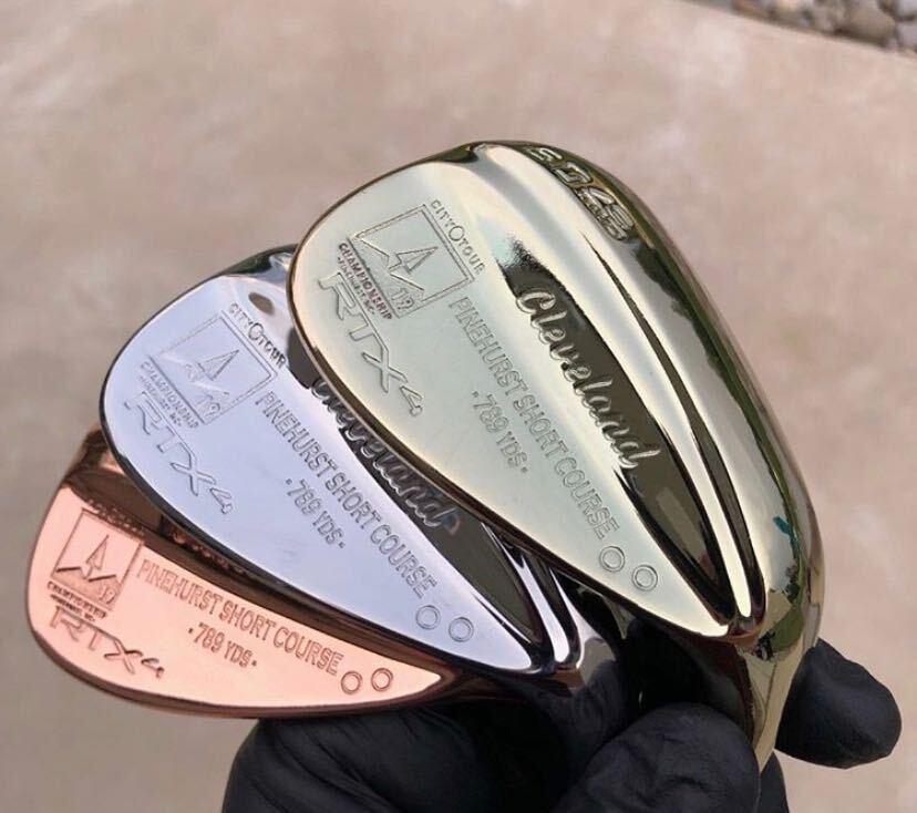 Custom golf wedges