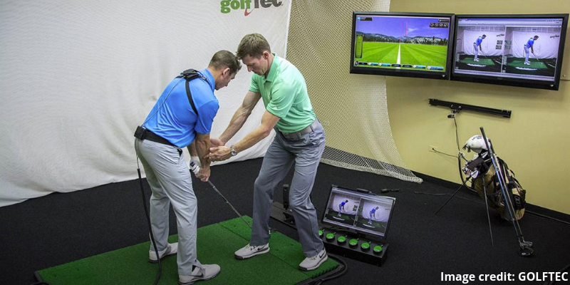 GOLFTEC club fitting