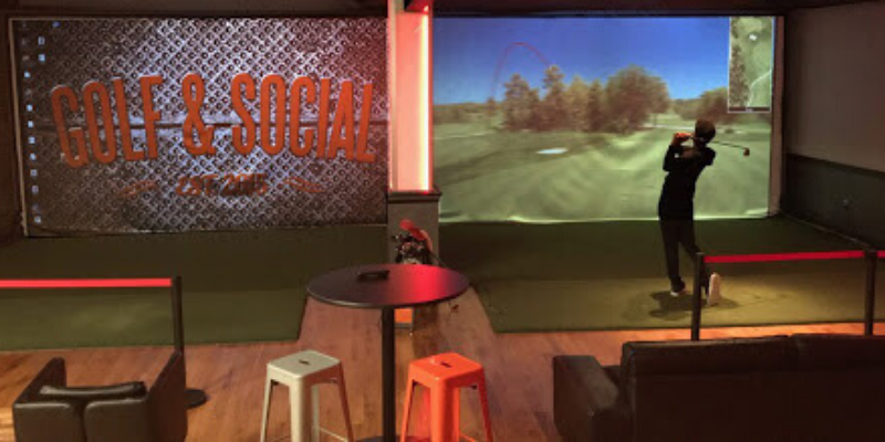 Golf and Social indoor golf