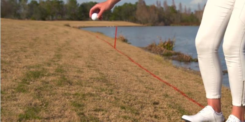 Golf rules new drop