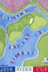 Lee Wybranski awesome golf art