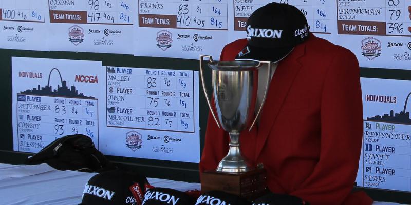 NCCGA trophy & Red Jacket