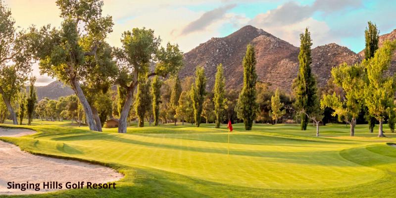 Singing Hills San Diego public golf