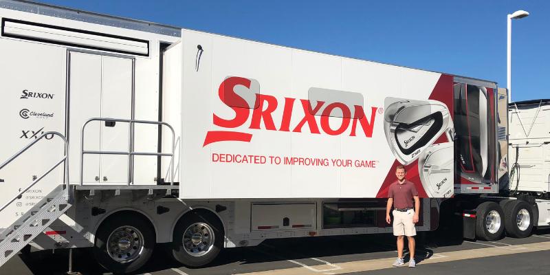 Srixon 2F Cleveland golf van