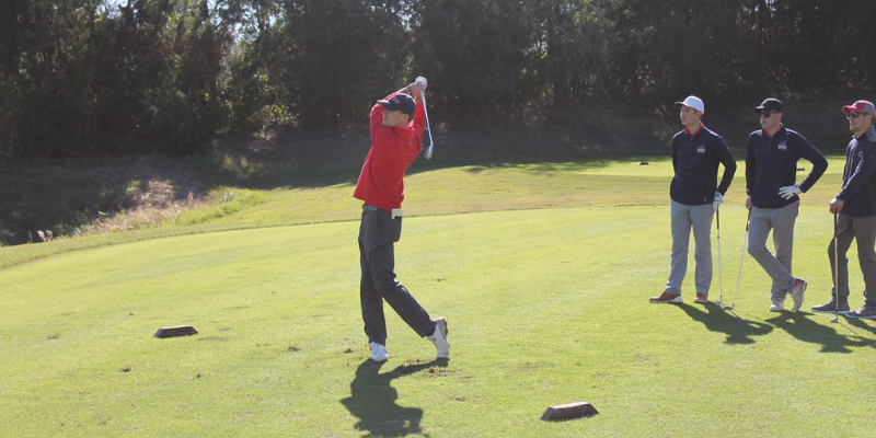 Tanner Kutek RMU club golf
