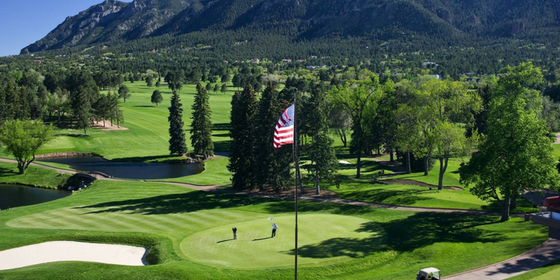 The Broadmoor, best golf trips from Boston