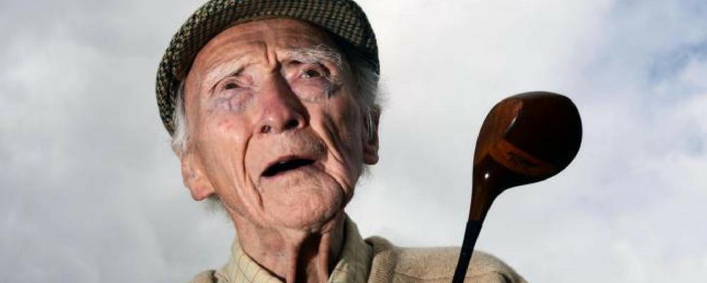 Old man golfer Nextgengolf