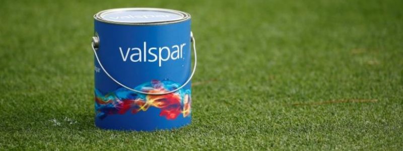 Valspar paint can
