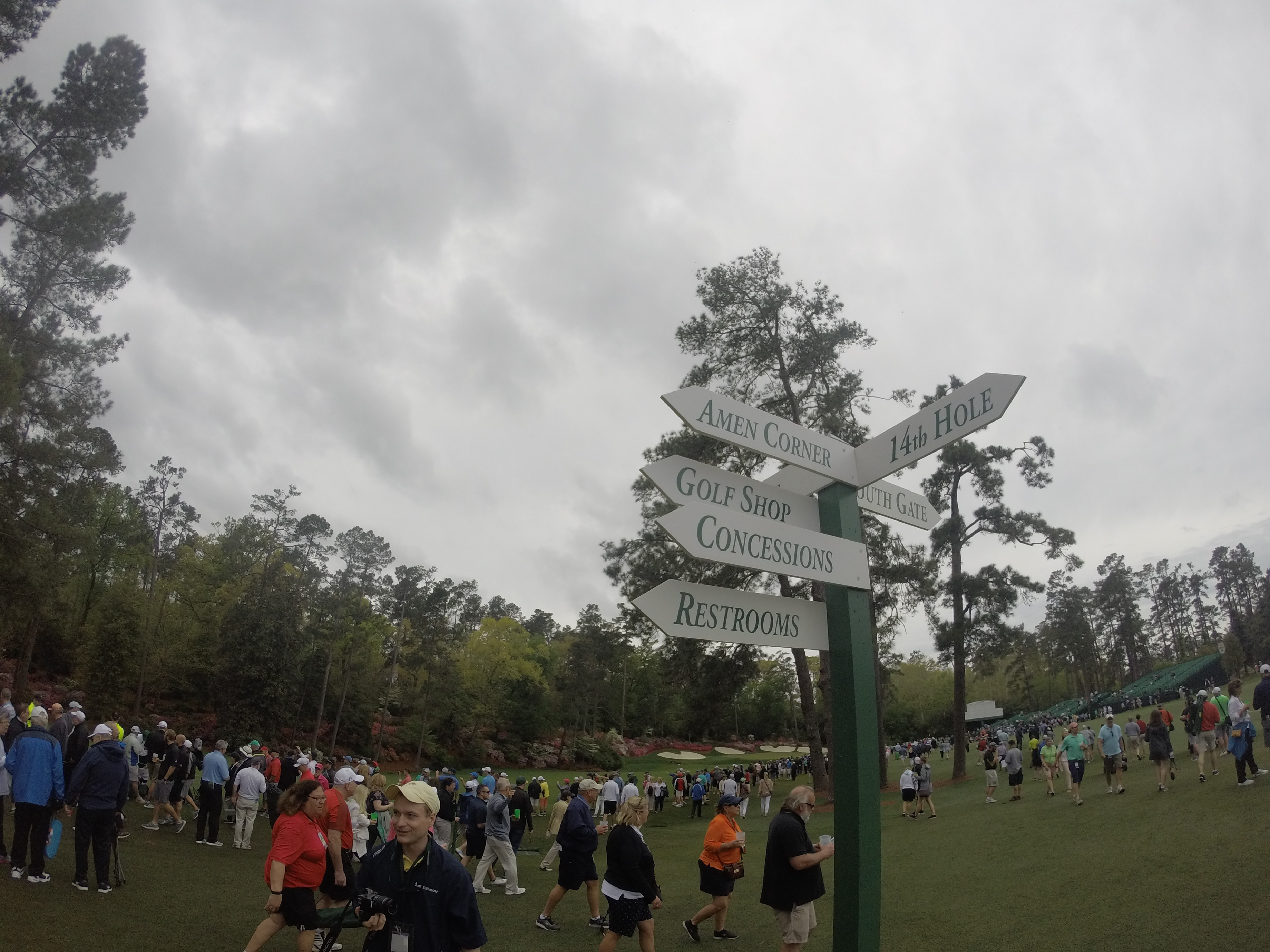 Where to go at the Masters