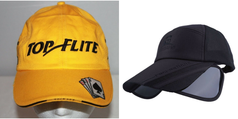 Worst golf hats Top Flite