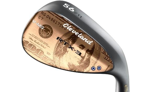 ben franklin money custom golf wedge