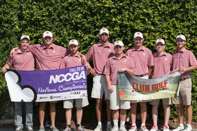 Maryland club golf team