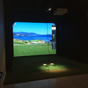 Swing 365 indoor golf facility