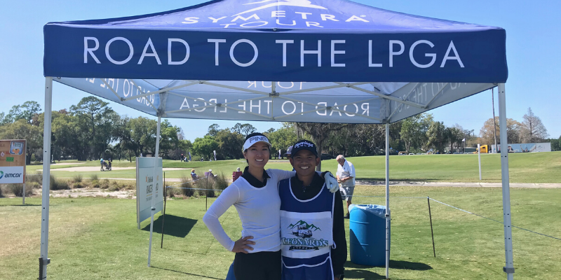 My experience caddying on the LPGA Symetra Tour