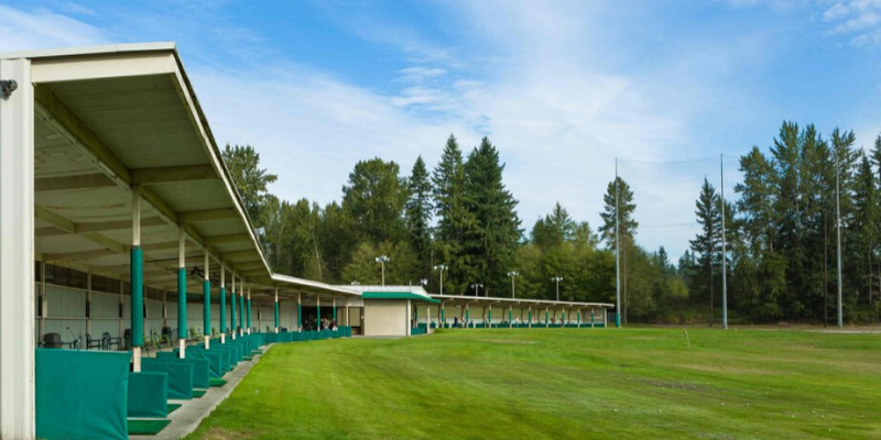 Best driving ranges in Seattle