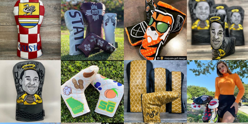 Top 5 coolest custom headcovers you can buy