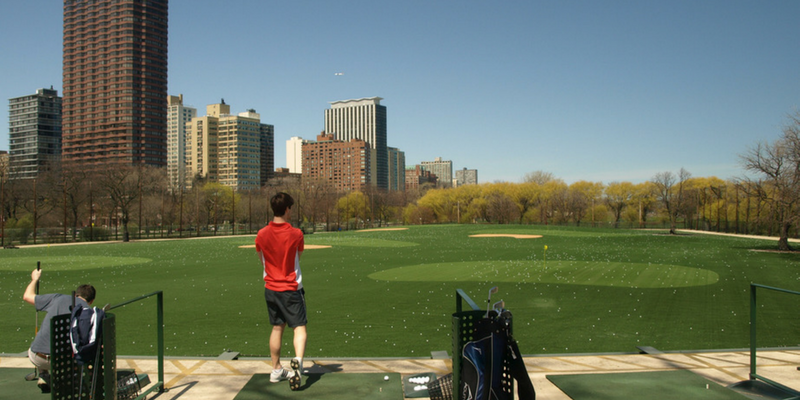 Best driving ranges in Chicago