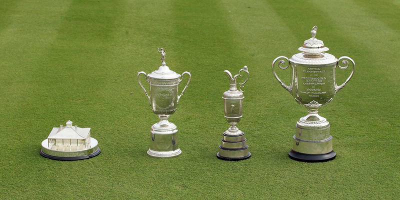 Playoff formats for golf's four major championships