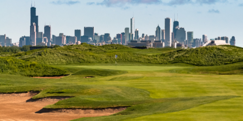 Joining a golf league in Chicago
