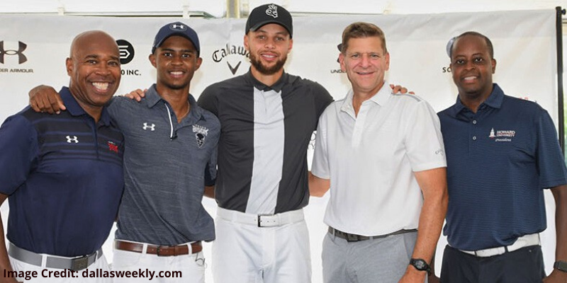 Steph Curry Otis Ferguson varsity golf