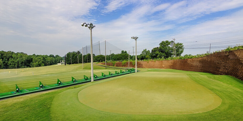 Best driving ranges in Charlotte
