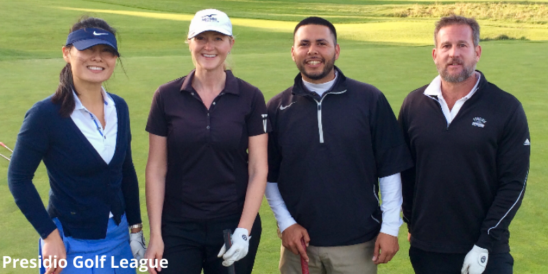Joining a golf league in the Bay Area