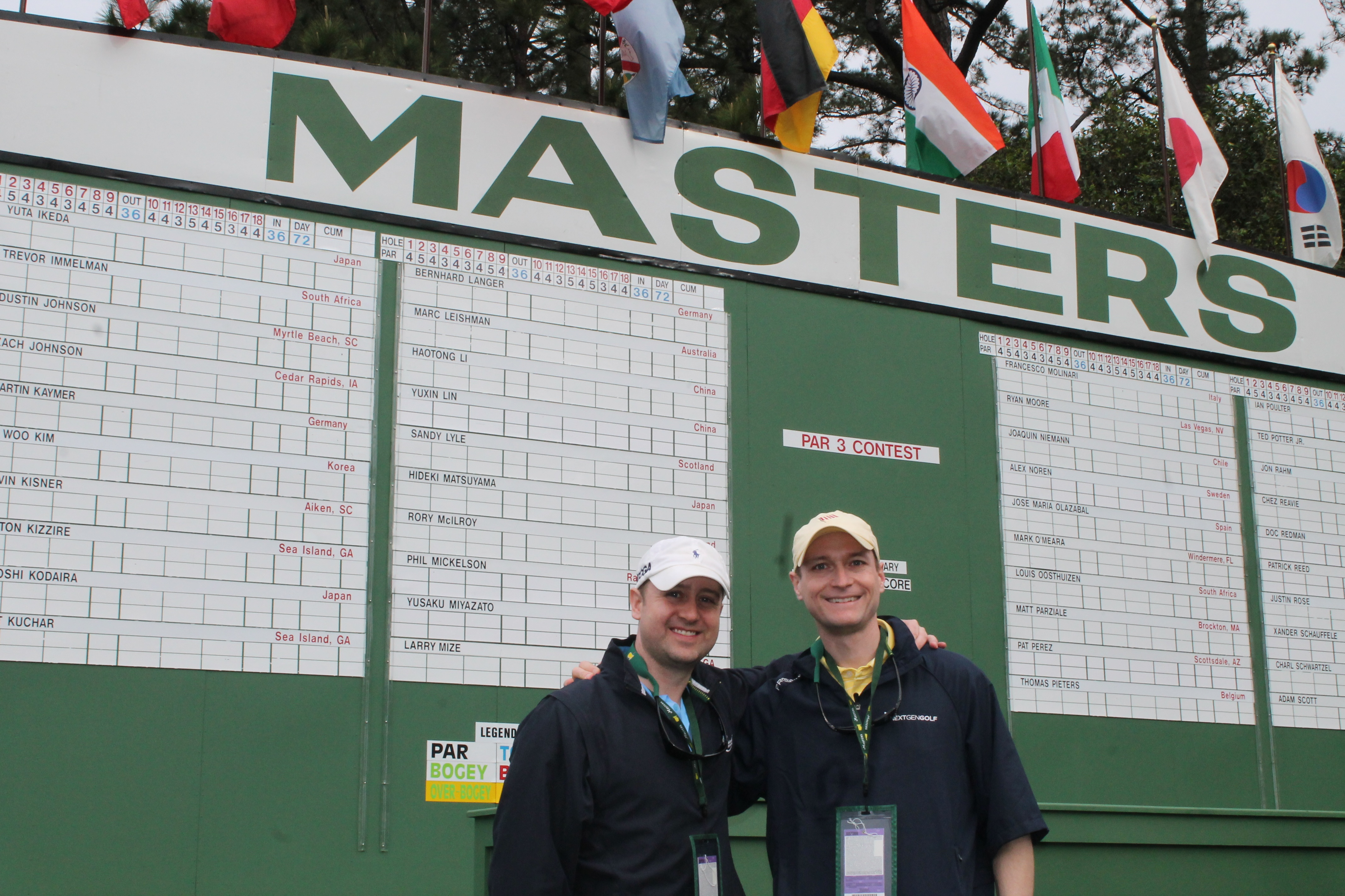 5 tips for patrons at their first Masters