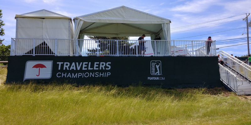 Ambassador experience at the Travelers Championship