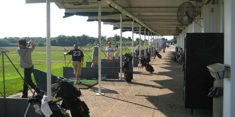 Best driving ranges in New York City