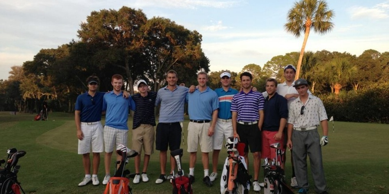 Then I found the club golf team on campus